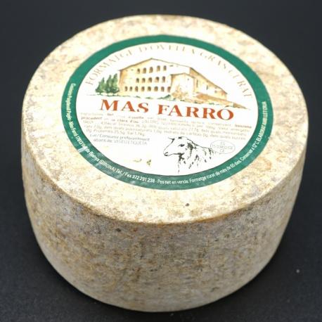 Formatge curat ovella 1,5kg Mas Farró